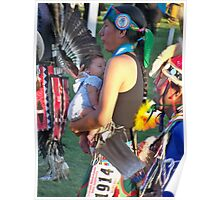 First POW WOW Poster