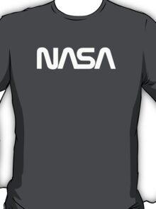 NASA Text [white] T-Shirt