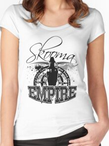 Skooma Empire - Not even once! Women's Fitted Scoop T-Shirt