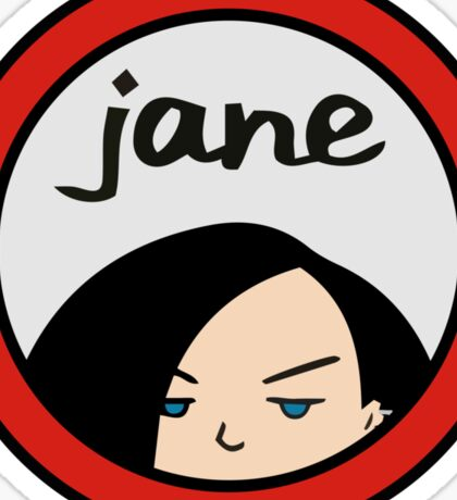 Jane Lane Daria Sticker