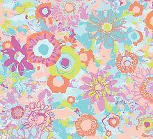 Fresh and Flirty Flowers by pamelalinn