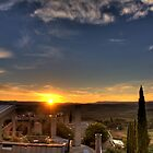 Arcosanti Sunrise by njordphoto