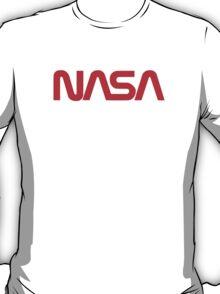 NASA Text [red] T-Shirt