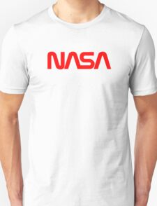 NASA Text [red] T-Shirt