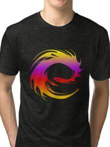 Colorful dragon - Eragon Tri-blend T-Shirt