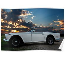 TR5 Sunset Poster