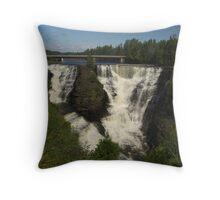 Kakabeka Falls Northern Ontario Throw Pillow