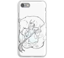 wind goddess iPhone Case/Skin
