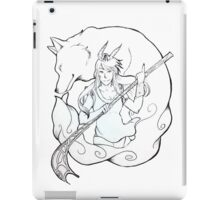 wind goddess iPad Case/Skin
