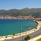 A view of Samos town by Maria1606