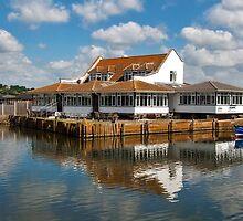 Riverside Restaurant ~ West Bay by Susie Peek