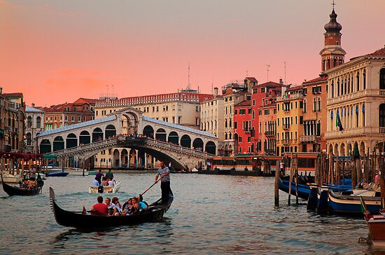 Il Bello Canal Grande by Inge Johnsson