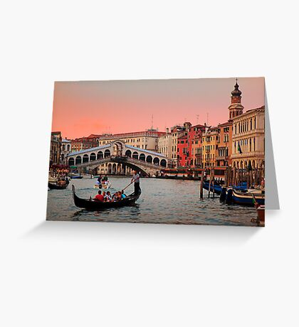 Il Bello Canal Grande Greeting Card