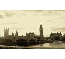 Big Ben and Parliament  Photographic Print