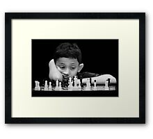 What To Move Next???? Framed Print
