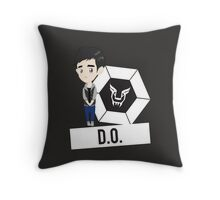 EXO - MAMA Chibi D.O. (For Dark Colors) Throw Pillow