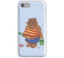 Silly Beach Bear iPhone Case/Skin