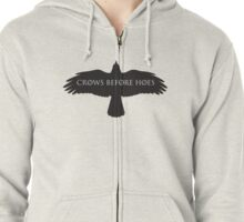 Game of Thrones - Crows Before Hoes Zipped Hoodie