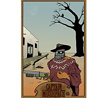 Old West Mushface Photographic Print