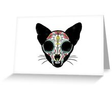 Dia de los Meow-tos Greeting Card