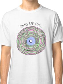 Vinyls are Cool (Pastel) Classic T-Shirt