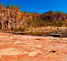 Katherine Gorge Panorama 1 by Jaxybelle