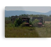 Abandoned in the North Metal Print
