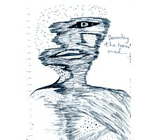 Dementing (I'm aware of the error) the human mind Photographic Print