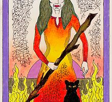 Queen of Wands by nexus7