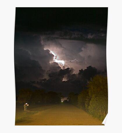 Indrio Lightning Poster