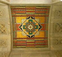 Supreme Court Entrance Ceiling by Brent McMurry