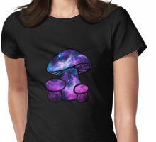 Psilocybin Mushroom Womens Fitted T-Shirt