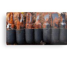 Rusty screwdriver bits Metal Print