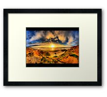 Path to the sea Framed Print