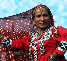 Rajasthan Folk Dancer by RajeevKashyap