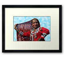 Rajasthan Folk Dancer Framed Print