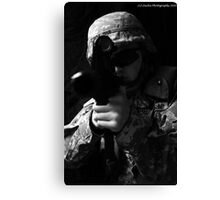 United States Army Soldier Canvas Print