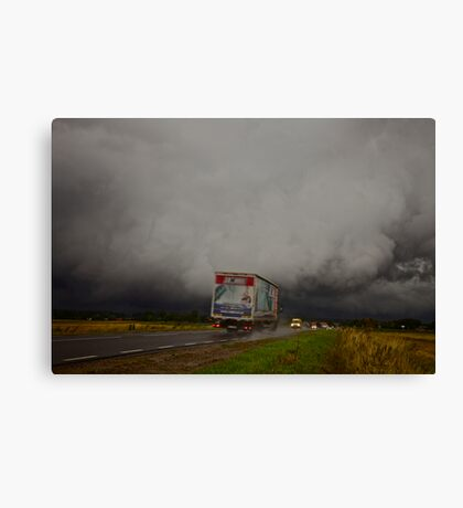 The storm passed over  - Poland . by Brown Sugar . Views (232( favorited by (1) thank you ! Canvas Print