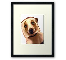 i want to love you badly Framed Print