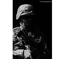 Black Ops No identity Photographic Print