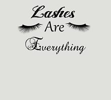 Lashes ARE Everything Womens Fitted T-Shirt