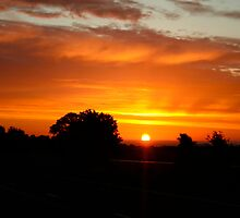 Sunrise in Yorkshire by kevin smith