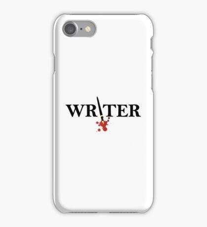 Writer iPhone Case/Skin