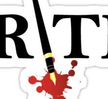 Writer Sticker