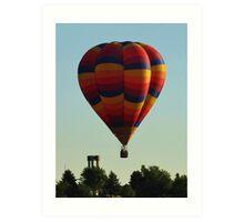 Balloon Launch Art Print