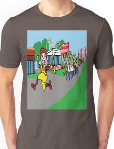 zombie fast food Unisex T-Shirt