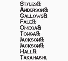 Bullet Club List - Black by Detective45