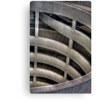 Spiral Ramps Canvas Print