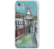 Paris Street(after Utrillo) iPhone Case/Skin