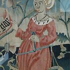 Tapestry lady with a hat by Kiriel